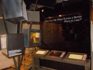 Экспозиция в Музее политической истории в С-Петербурге